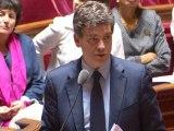 """Montebourg : """"Nous n'acceptons pas en l'état le plan"""" de PSA"""