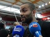 Basket : les Bleus s'entraînent à Calypso Calais - interviews de Parker, Bokolo, De Colo et Diaw