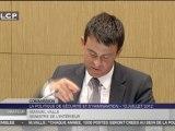 Manuel Valls réprimande ses collaborateurs