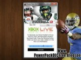 NCAA Football 13 Power Pack DLC Free on Xbox 360 And PS3