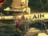 Seconde place pour Armel Le Cléac'h - Vendée Globe 2008-2009