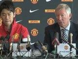 Man United, la presentazione di Kagawa e Powell