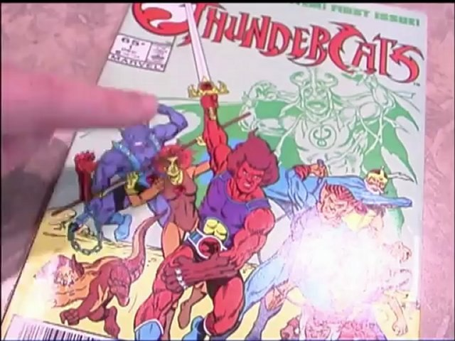 CGR Comics - THUNDERCATS #1, based on TV cartoon