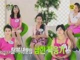Des transfuges coréens lors d'un spectacle TV sud-coréen