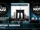 Lightnin' Hopkins - Organ Boogie (1949)