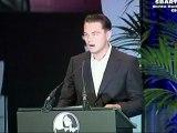 Leonardo DiCaprio Honors Batman The Dark Knight Rises Movie Director