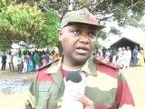 Visite du Président aux manœuvres médico-militaires de Port-Gentil