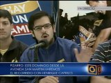 Fuerza Joven reiteró su llamado a caminar por el futuro de los venezolanos, este domingo