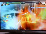 l'attaque final flash de super baby 2 contre sangoku super sayan