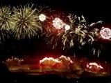 feu d'artifice du 14 juillet 2012 Carcassonne