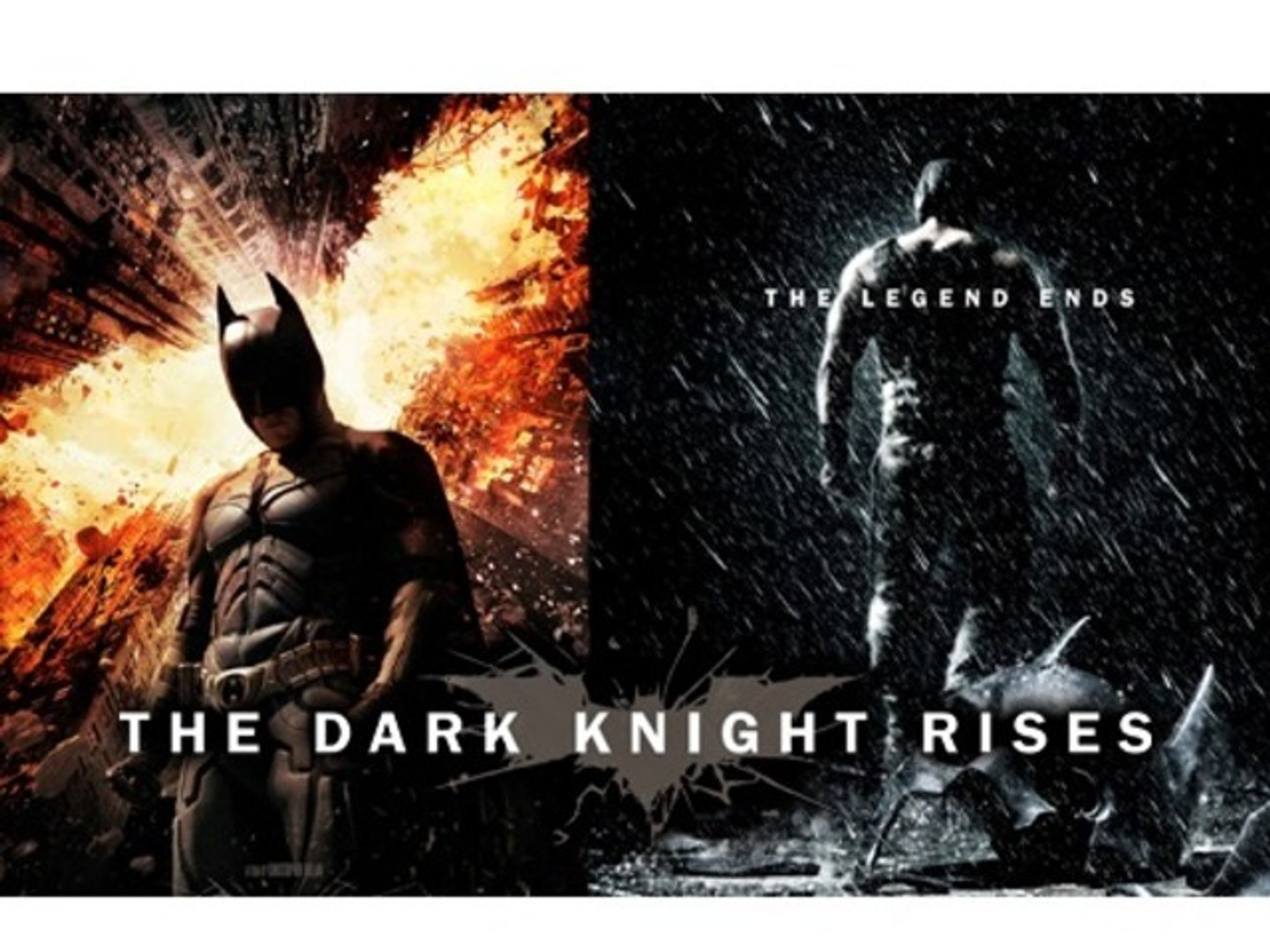 The Dark Knight Rises Movie Preview - Christian Bale, Michael Caine and Tom Hardy