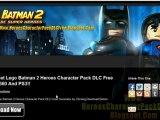 Lego Batman 2 Heroes Character Pack DLC Free Xbox 360 - PS3