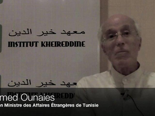 Ounaies: la Tunisie un an et demi après la révolution