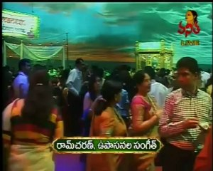 Celebrities at Ram Charan's Wedding Sangeet Function - 03