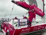 Tanguy de Lamotte part en qualification pour le Vendée Globe
