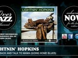 Lightnin' Hopkins - Goin' Back and Talk to Mama (Going Home Blues) (1949)