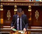 Intervention du député Olivier Faure dans l'hémicycle lors du débat sur le Projet de Loi de Finances Rectificative