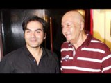 Arbaaz Khan & Prem Chopra @ Challo Driver Movie Special Screening