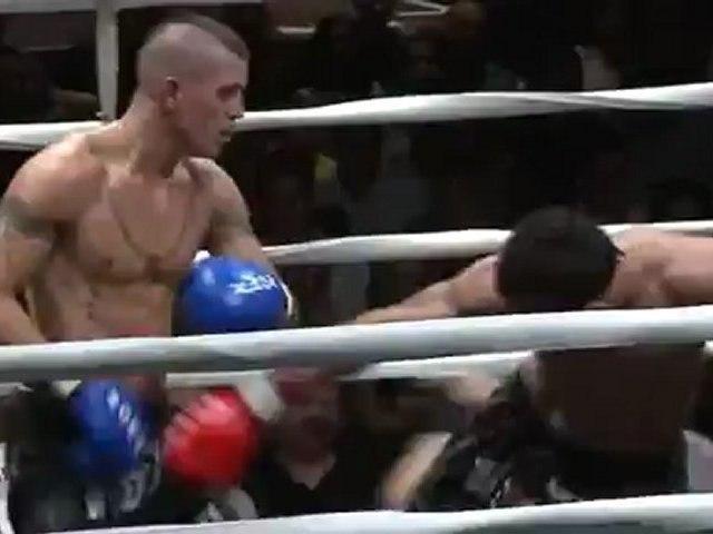 Muay Thai Fight Highlights Harms-Mendez - Oezalp