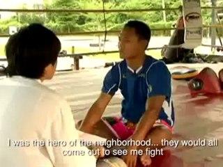 Muay Thai Interview Sanchai 1