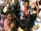مظاهرات رافضة لأي تسوية مع الرئيس صالح