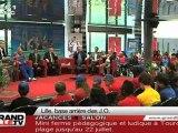 JO de Londres 2012 : Les athlètes du monde s'entraînent à Lille