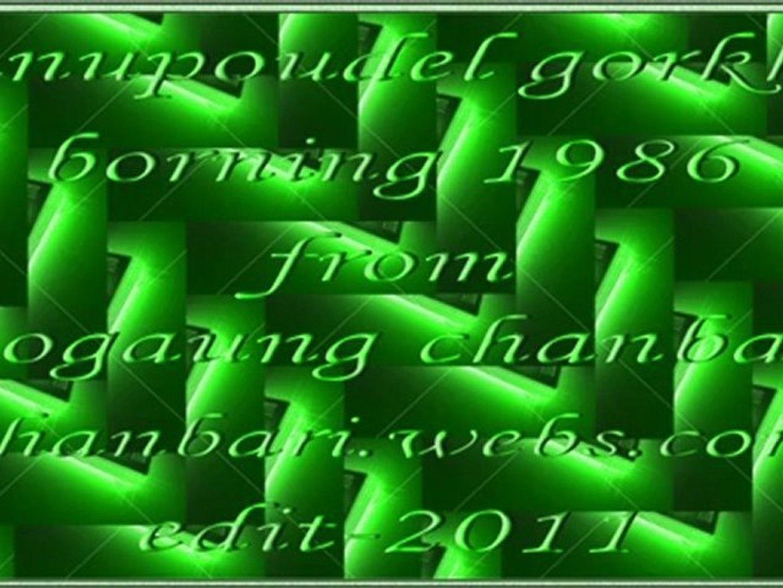 sanupoudel gorkha - borning 1986 from mogaun chanbari