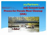 United Advisory Partners, NACEPT Recommends Cement-Lock Process for Passaic River Cleanup (USA)
