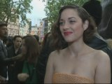 Dark Knight Rises premiere: Marion Cotillard interview