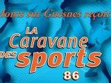La Caravane des Sports 2012 à Monts-sur-Guesnes (86)