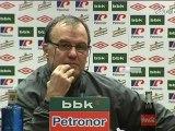 Athletic Club 2 - FC Barcelona 2: Rueda de prensa de Marcelo Bielsa