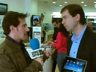 El iPad triunfa en España