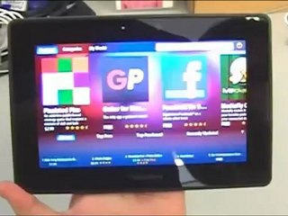BlackBerry Playbook, en detalle