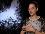 The Dark Knight Rises - Exclusive Interview With Joseph Gordon-Levitt And Marion Cotillard