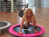 Monya fitness trampolino elastico flessioni sulle braccie Palestra ALBESE FITNESS CENTER
