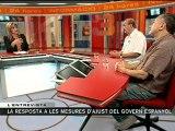 TV3 - Entrevista del 3/24 - Els líders de CCOO i de la UGT de Catalunya