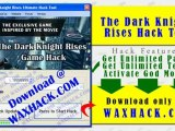 The Dark Knight Rises Hack (New Release The Dark Knight Rises iPhone Cheat Update)