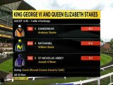 21.07.2012 Ascot (GB) 6.Race King George Stakes 2012 - Group I  2.414 m Winner: Danedream (GER)