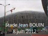 7/6/2012 Avancement des travaux du stade Jean Bouin