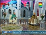 Noor-e-Ramzan - Iftar Transmission - 21st July 2012 - 1st Ramzan part 4