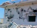 Syria فري برس  حماه المحتلة أثار القصف الهمجي على قرية قنبر بريف حماة 20 7 2012 Hama