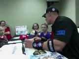 John cena makes a child's wish come true