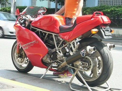 DUCATI 900SS-SP Blipping Sound