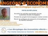 La crise écologique aujourd'hui (6): pistes de réflexion