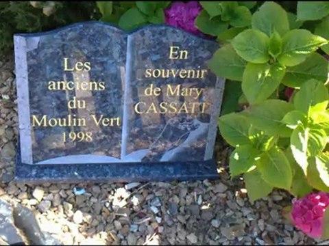 juillet 23, 2012 tombe de Mary CASSATT