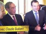 Pot de départ du préfet de Seine-et-Marne Pierre Monzani