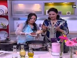 choumicha ramadan 2012 badia senhaji recette de Kefta farcie aux oeufs
