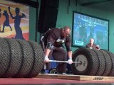 Arnold Strongman Classic 2012 : Brian Shaw 1073 pound