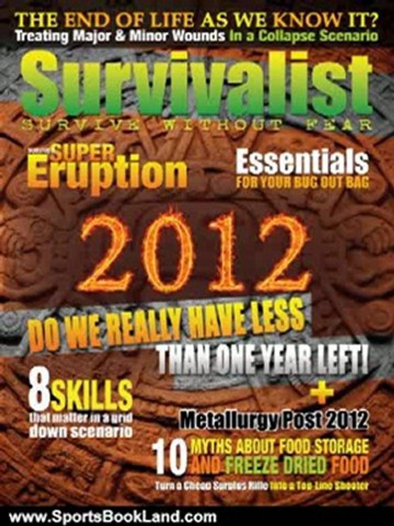 Sports Book Review: Survivalist Magazine Issue #6 - Surviving 2012 by Jim Cobb, Joseph Alton M.D., R