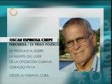 Expreso político cubano: Muerte de Payá es un golpe muy fuerte para la disidencia cubana